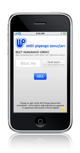 Piyango iPhone Application Image