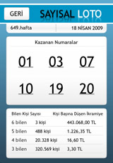 """Talih Kuşu"" iPhone Application Screenshot 3"
