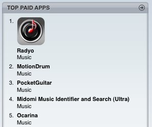 iPhone Radyo application #1