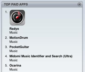 iPhone Radyo application #1