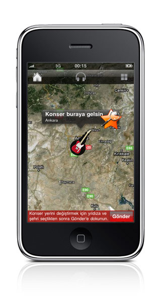 """Radyo"" iPhone Application, radio, Turkey"